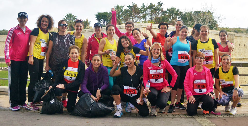 Malta Marathon 2015 - Ladies Running Club